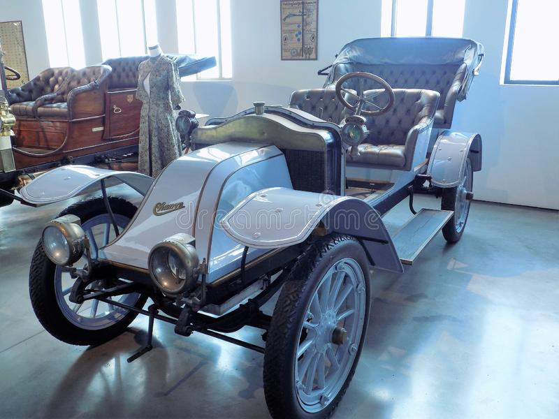 Auto-klassischmuseum MotorigMÀLAGA lizenzfreie stockfotografie