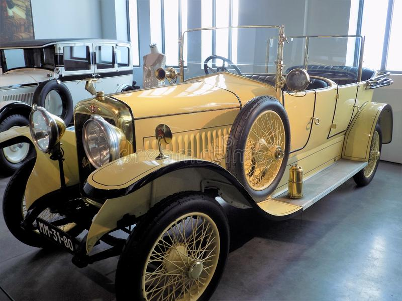 Auto-klassischmuseum MotorigMÀLAGA lizenzfreie stockbilder