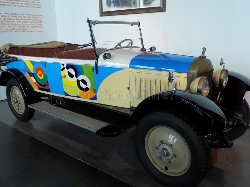 Auto-klassischmuseum MotorigMÀLAGA stockbild