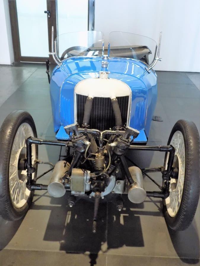 Auto-klassischmuseum MotorigMÀLAGA stockbilder