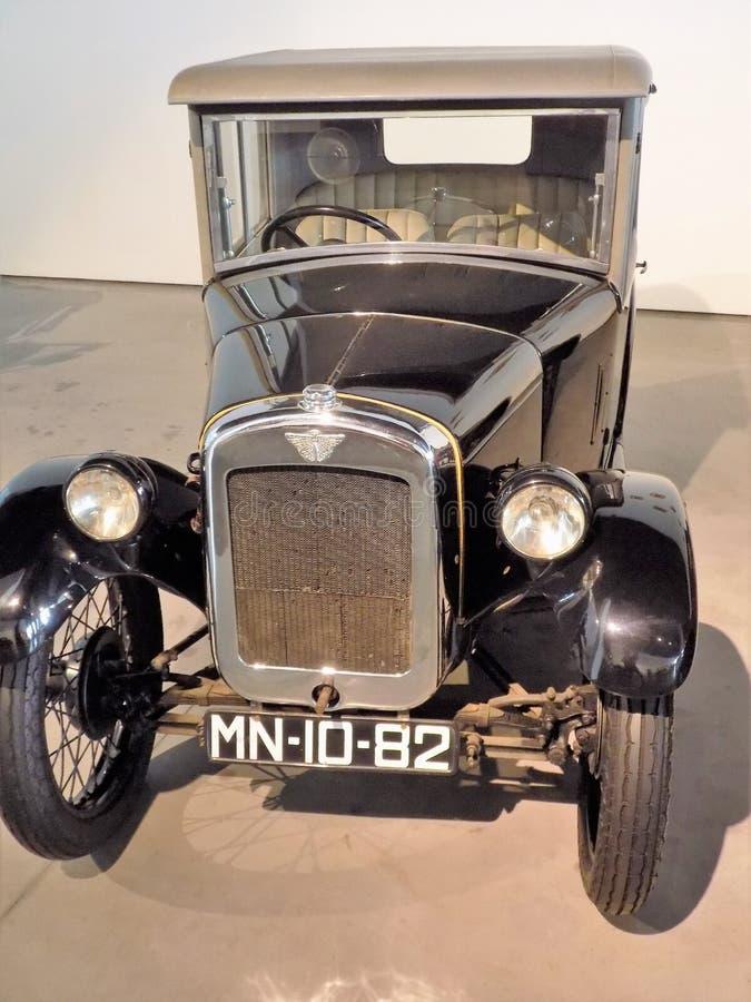 Auto-klassischmuseum MotorigMÀLAGA stockfotografie