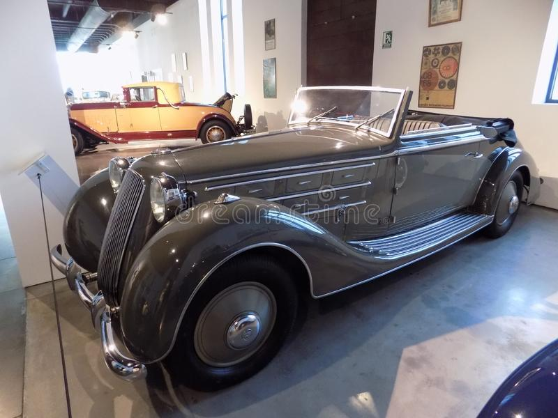 Auto-klassischmuseum MotorigMÀLAGA lizenzfreies stockbild