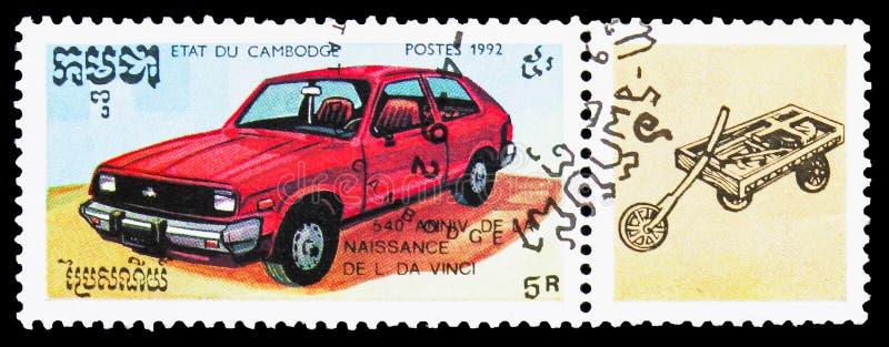 Auto, Leonard da Vinci serie, circa 1992 stock fotografie