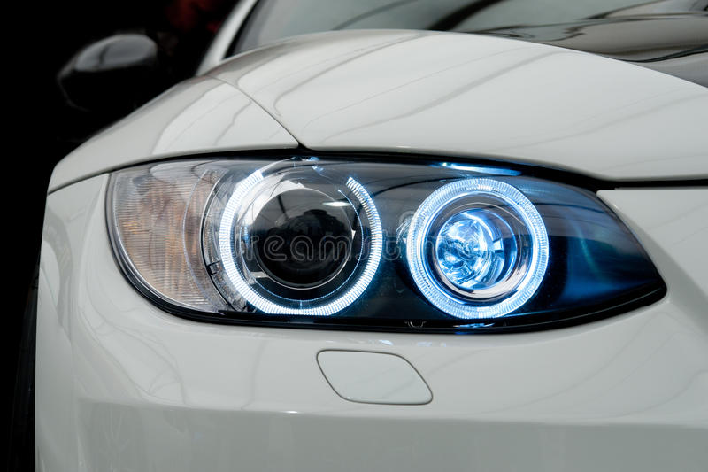 Auto-Leuchte stockbild