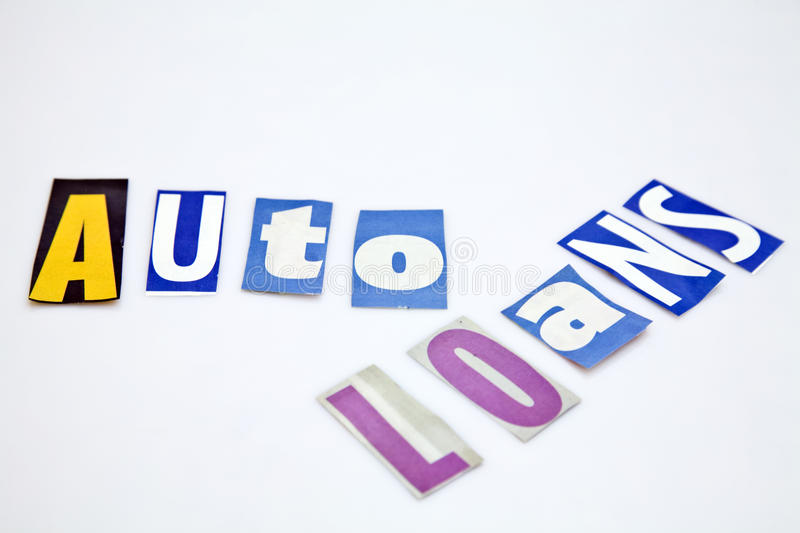 Download Auto Loans Royalty Free Stock Photos - Image: 25897998