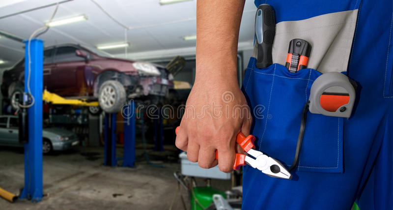 Download Auto mechanic stock photo. Image of person, technician - 17281748