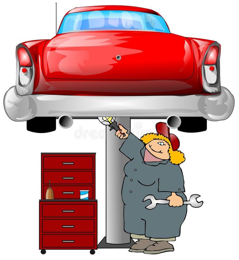 Auto Mechanic vector illustration