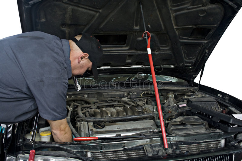 Download Auto Mechanic stock photo. Image of engine, occupation - 5630742