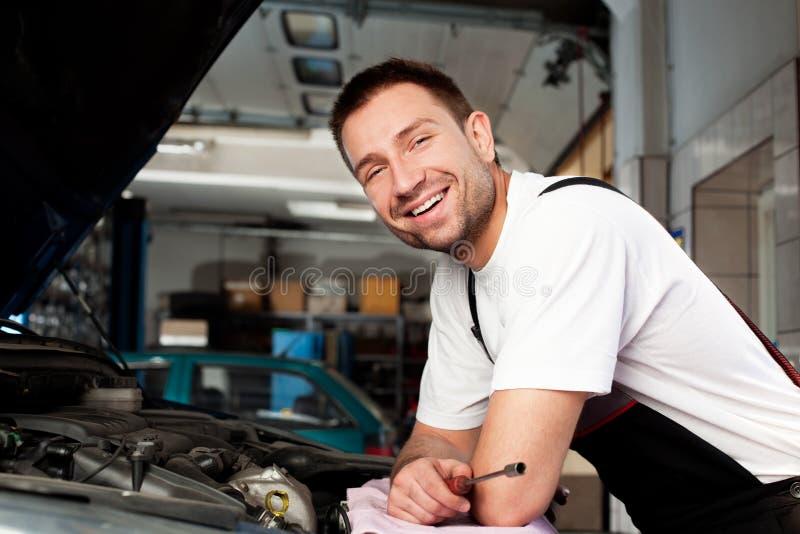 Download Auto mechanic based on car stock photo. Image of transportation - 18022068