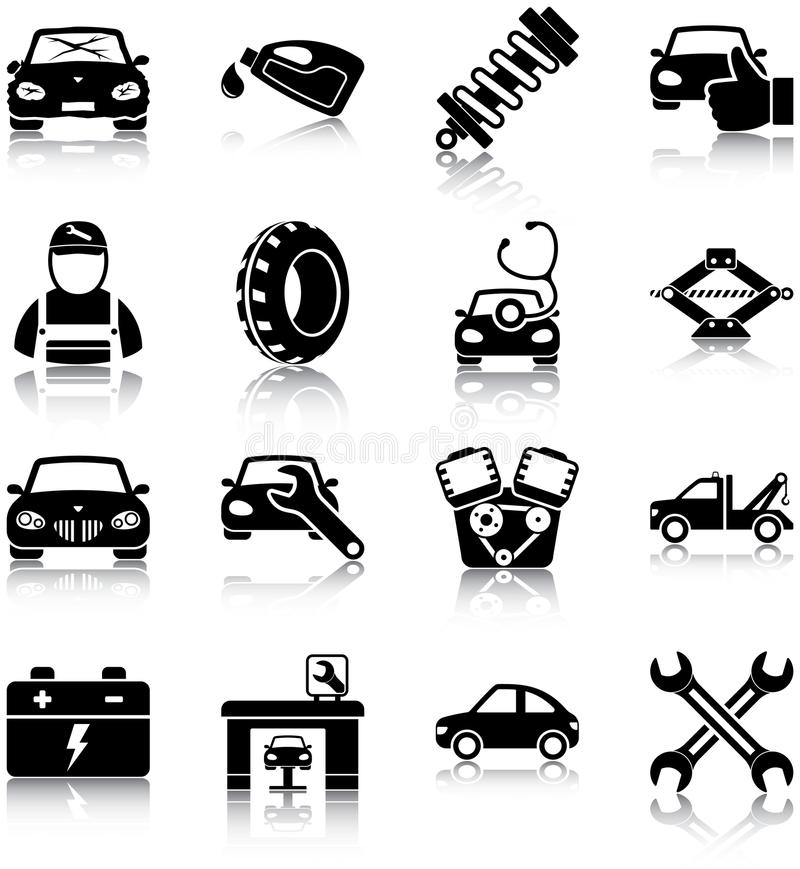 Auto mechanic royalty free stock photography
