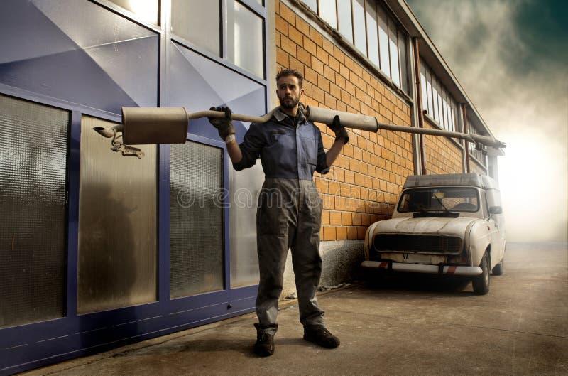 auto mekaniker arkivfoto