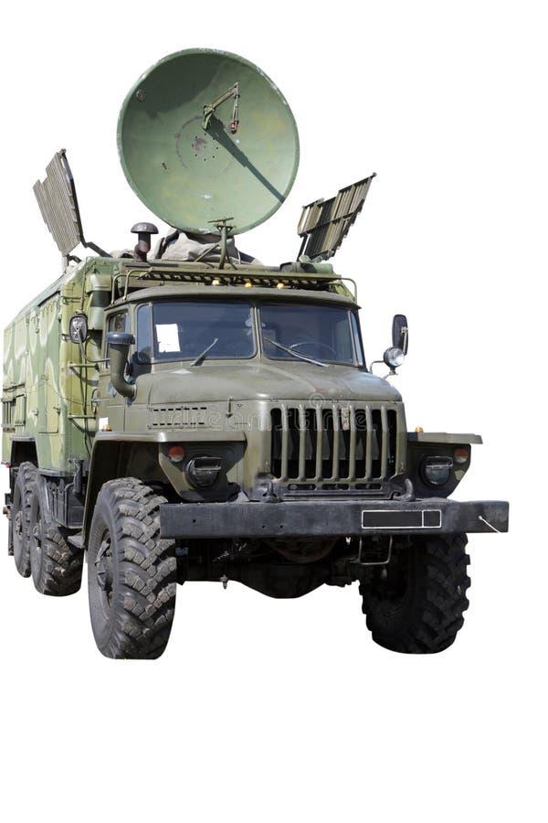 Auto mit Radar stockfoto