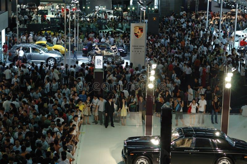 Auto mostra 2008 imagem de stock