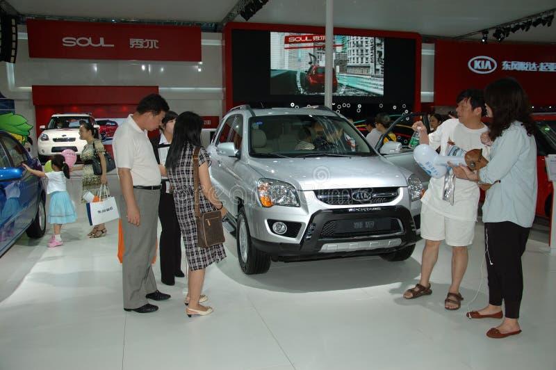 Auto mostra em China, Shenzhen fotos de stock royalty free