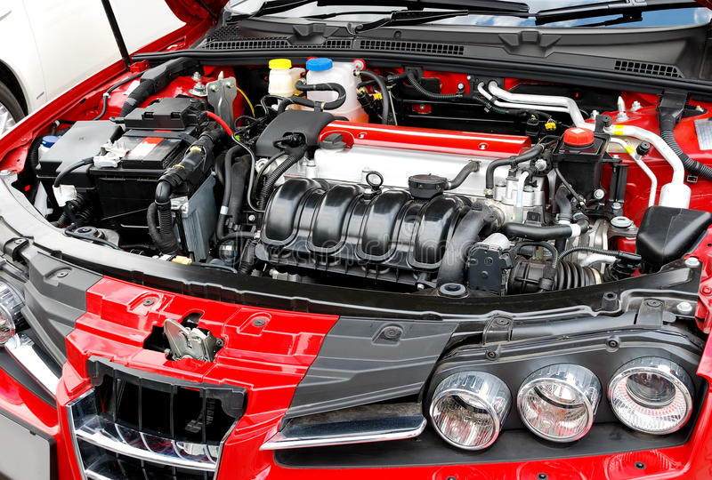 Auto-Motor stockbild