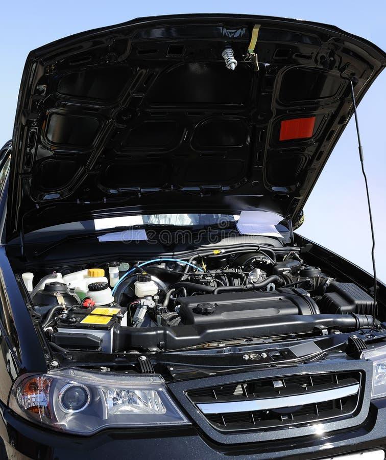 Auto-Motor stockbild. Bild von luxus, sauber, frontseite - 14006565