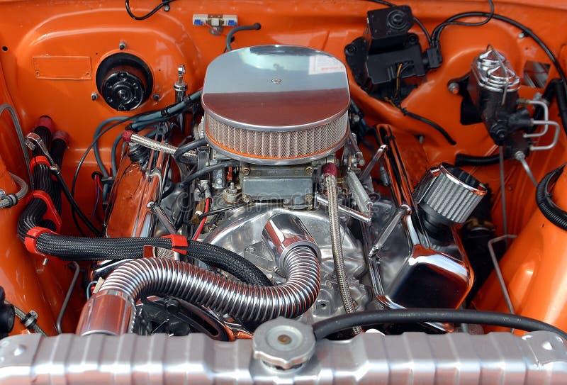 Auto-Motor lizenzfreie stockfotografie