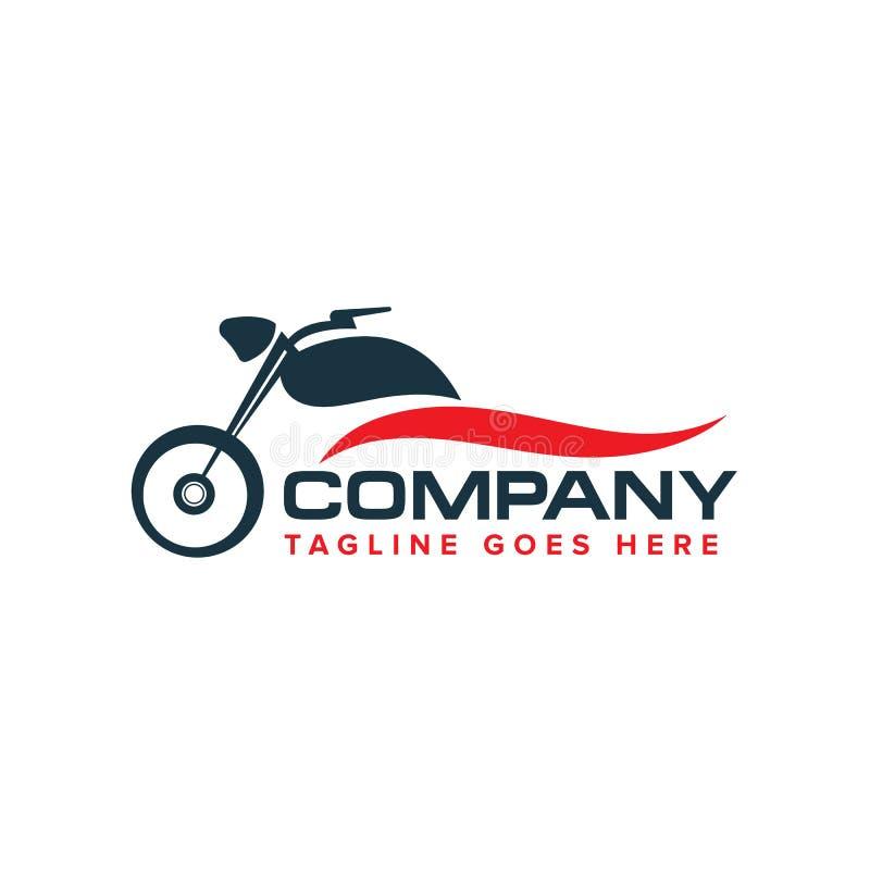 Auto motorbikes logo design vector stock illustration