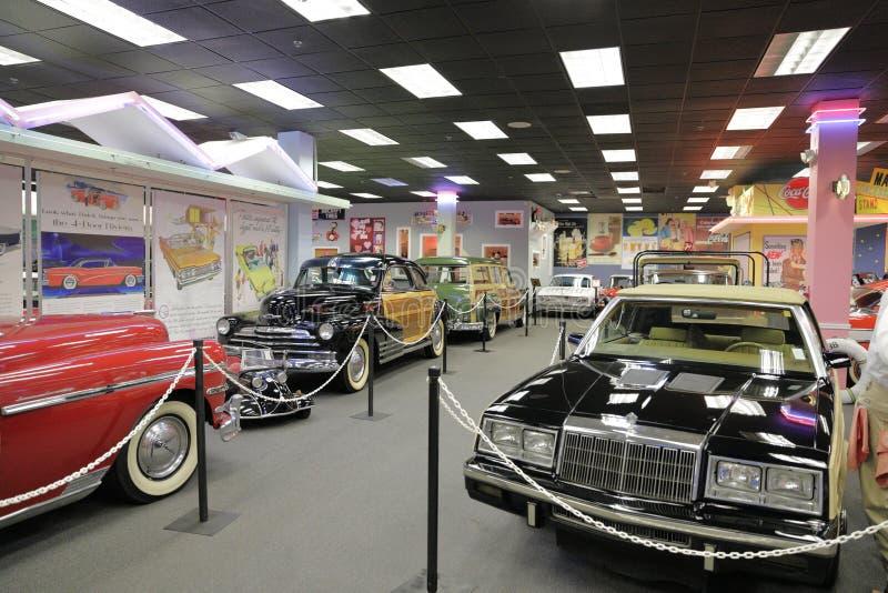 Auto museu de Miami na coleção de Dezer dos automóveis e de recordação relacionada fotos de stock royalty free
