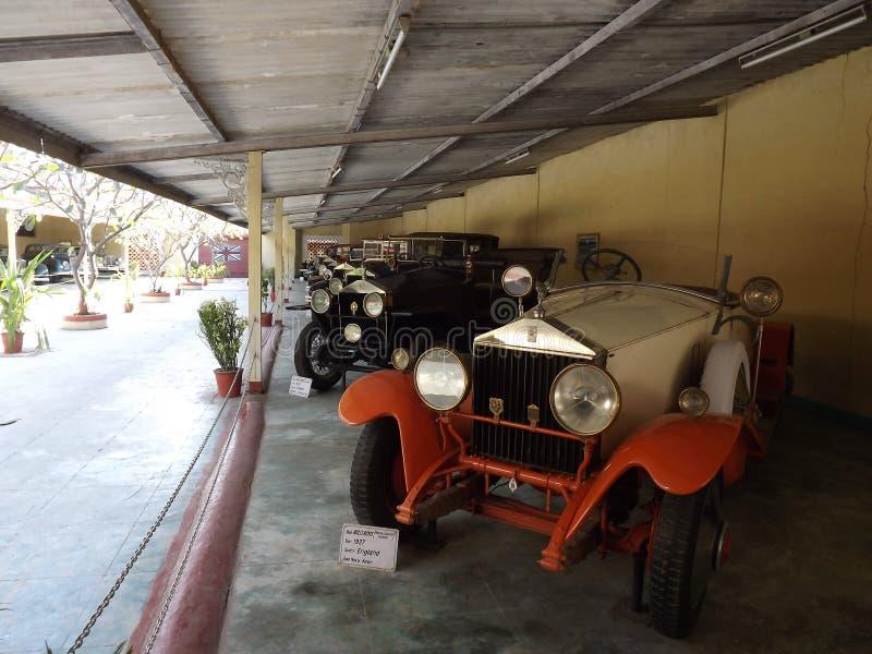 Auto museu do carro do vintage do mundo, Ahmedabad, Gujarat foto de stock royalty free