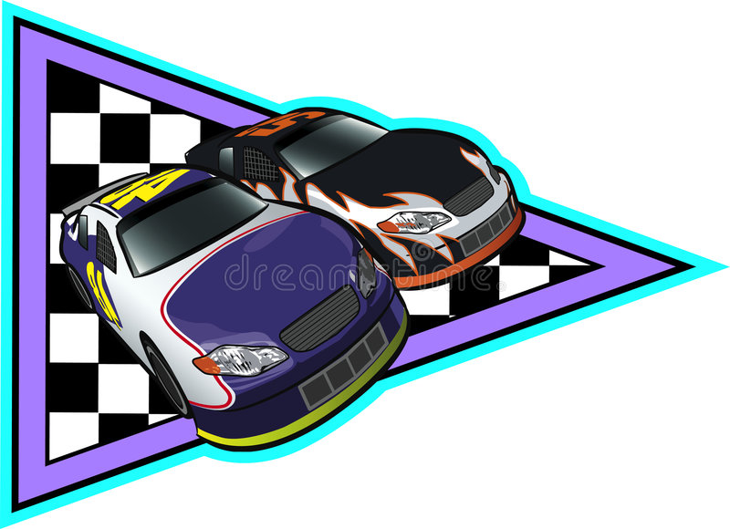 auto nascar target267_0_ obraz stock