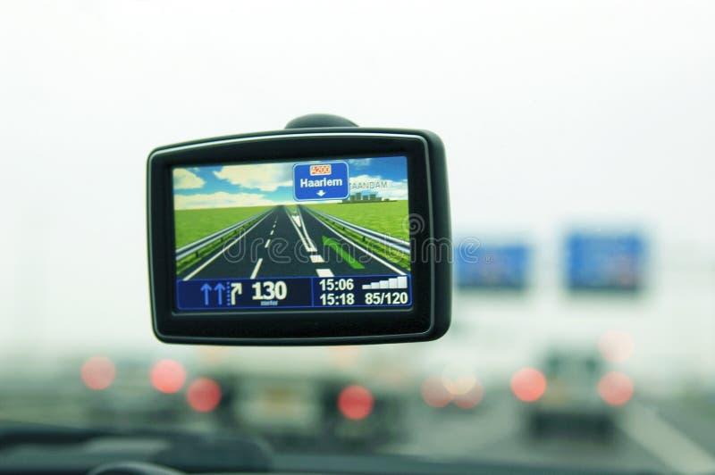 Auto-Navigation lizenzfreies stockfoto