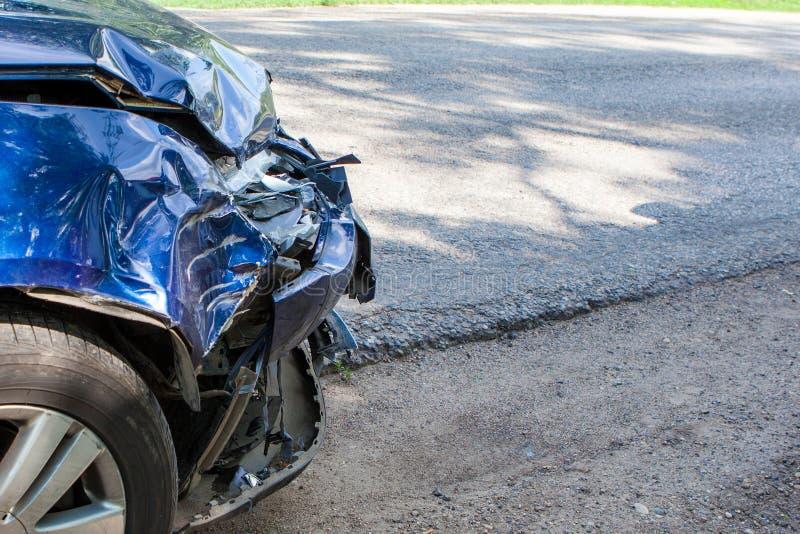 Auto olycka royaltyfria foton