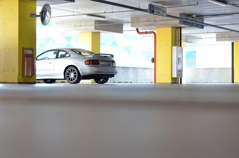 Auto op parkeren royalty-vrije stock foto