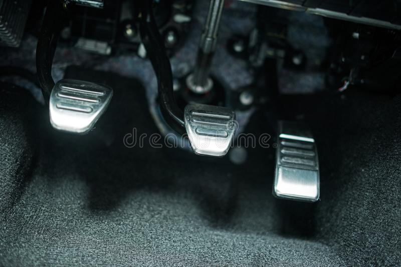 Auto-Pedale stockbild