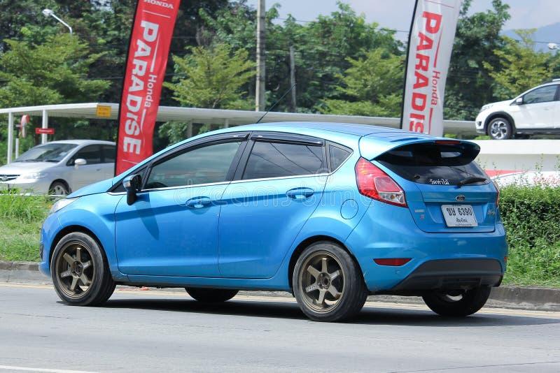 Auto privata, Ford Fiesta fotografia stock