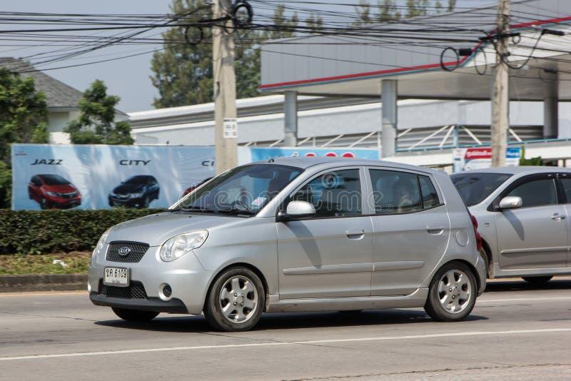 Auto privata, Kia Picanto K1, prodotto della Corea immagine stock libera da diritti