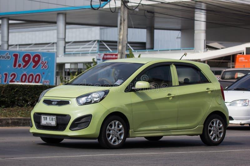 Auto privata, Kia Picanto K1, prodotto della Corea immagini stock