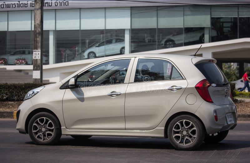 Auto privata, Kia Picanto K1, prodotto della Corea immagini stock libere da diritti