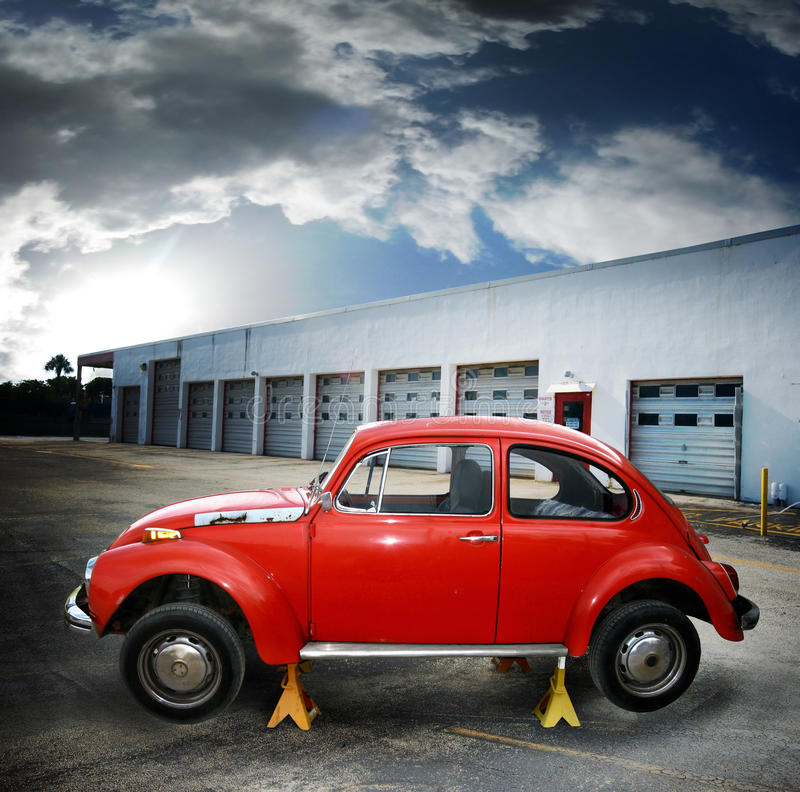 Download Auto repair stock photo. Image of industry, classic, transportation - 9529552