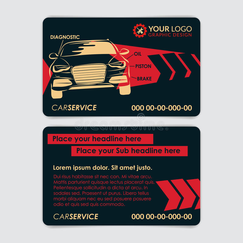 Auto Repair Business Card Template. Create Your Own Business Cards ...