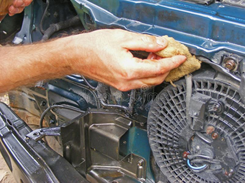 Auto repair concept. Photo close up royalty free stock photos