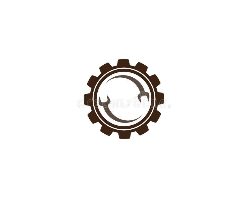 Auto Repair Logo Template. Vector icon illustration design royalty free illustration