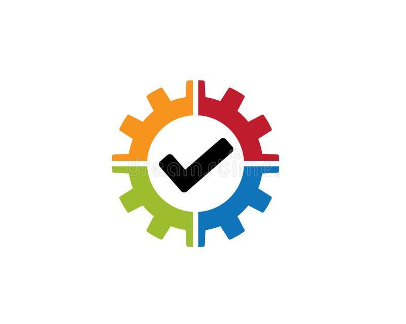 Auto Repair Logo Template. Vector icon illustration design stock illustration