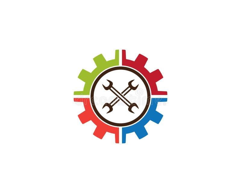 Auto Repair Logo Template. Vector icon illustration design vector illustration