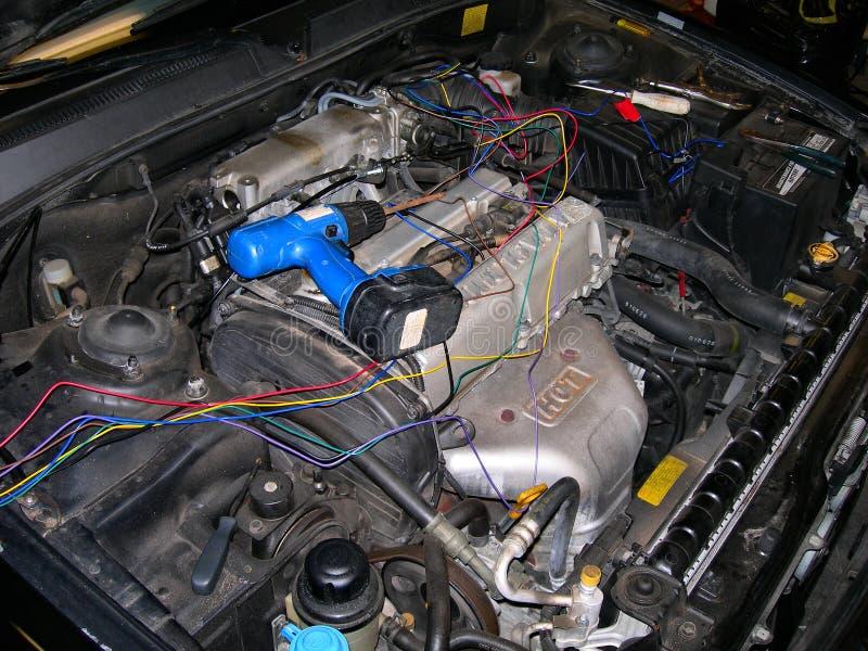Auto-Reparatur stockfoto
