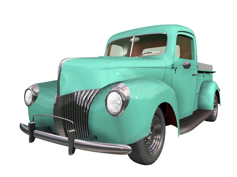 Auto retro vector illustratie