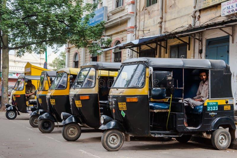 Auto Rickshaws royalty free stock photo