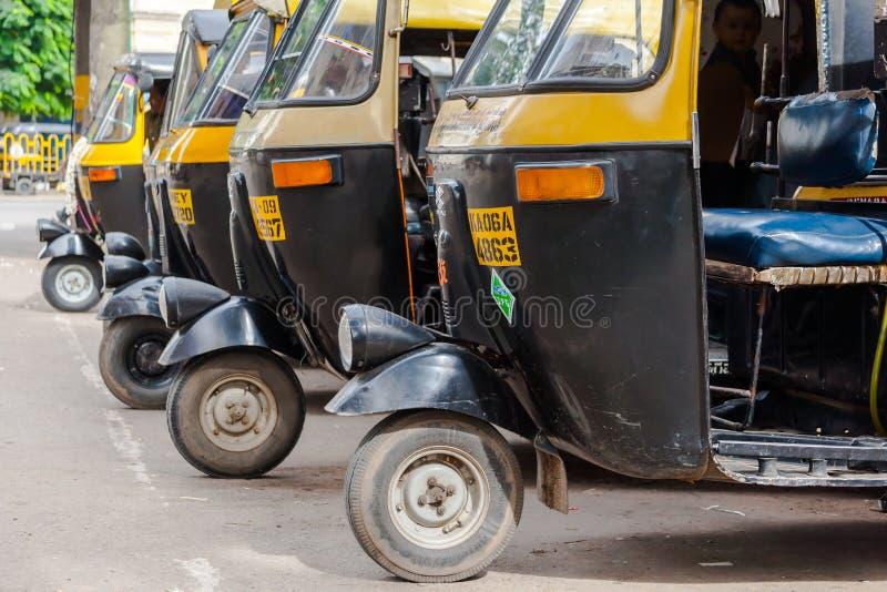 Auto Rickshaws royalty free stock image