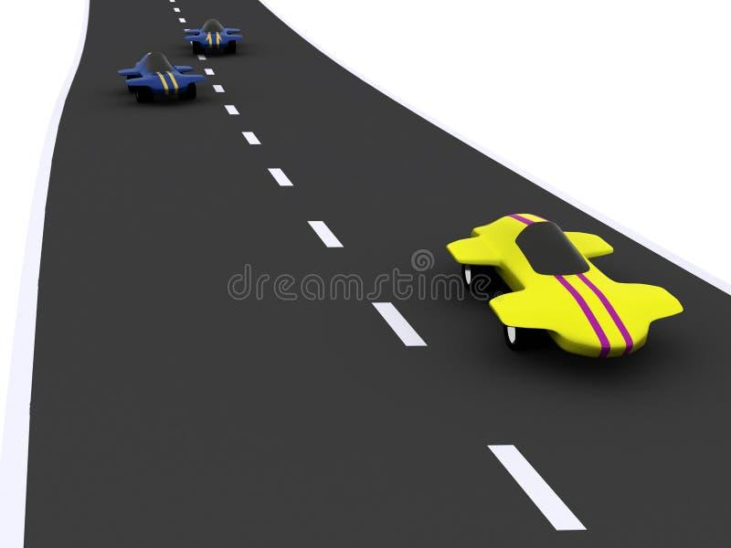 Auto's royalty-vrije illustratie