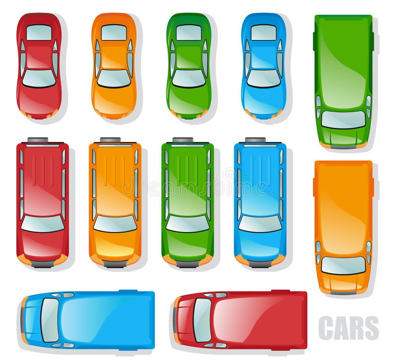 Auto's vector illustratie