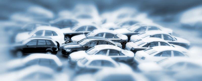 Auto's royalty-vrije stock afbeelding
