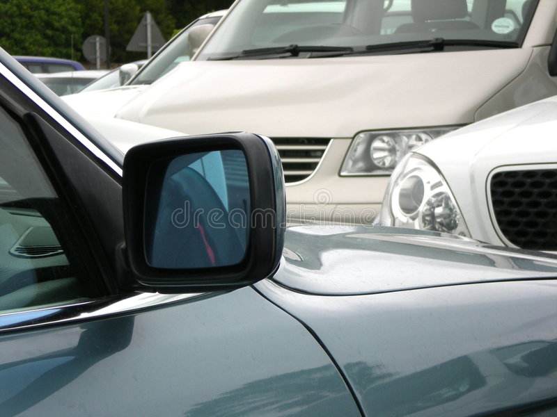 Auto's in verkeer royalty-vrije stock foto
