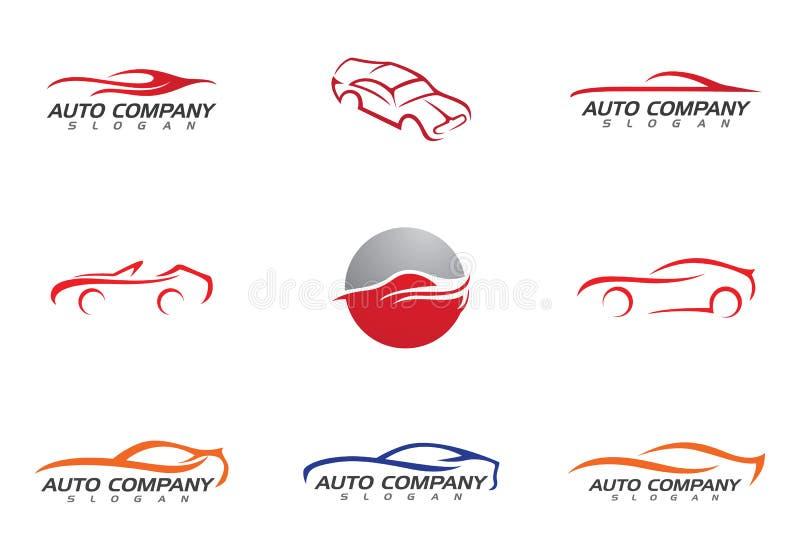 Auto Samochodowy loga szablon royalty ilustracja