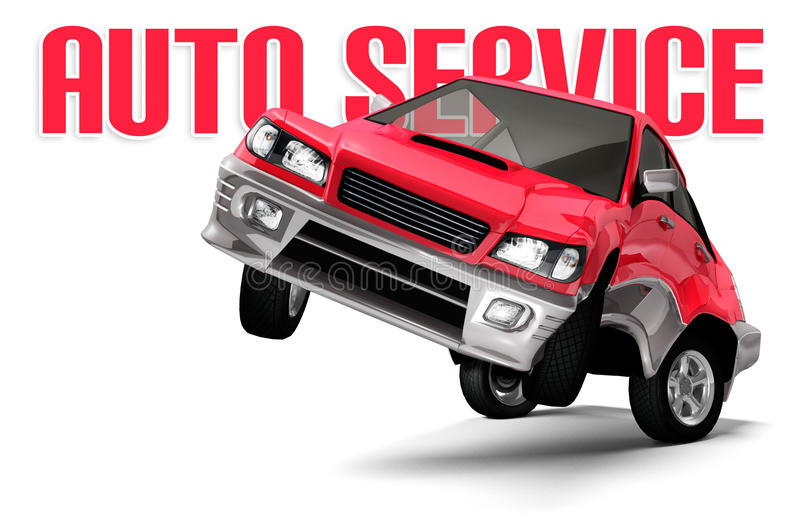Download Auto Service Concept stock illustration. Image of object - 13634649