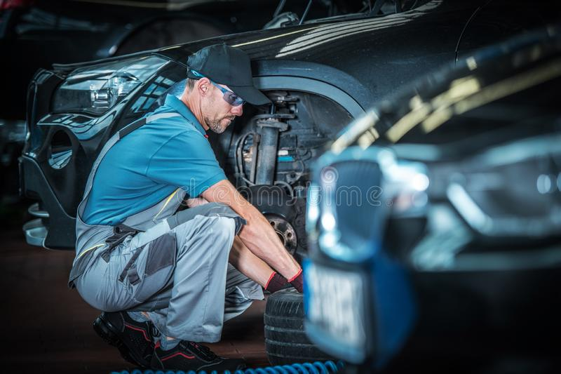 Auto Service Department royalty free stock photos
